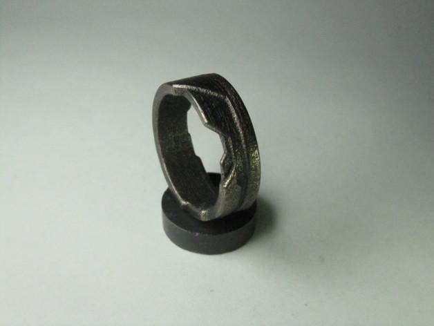 Tron戒指/指环 3D模型  图6