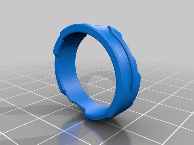 Tron戒指/指环 3D模型  图7