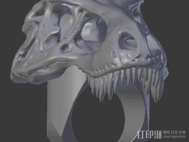 恐龙戒指 3D模型  图6