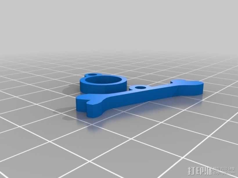 恐龙骨骼项链 3D模型  图3