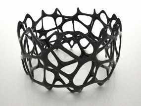 多边形镂空手镯 3D模型
