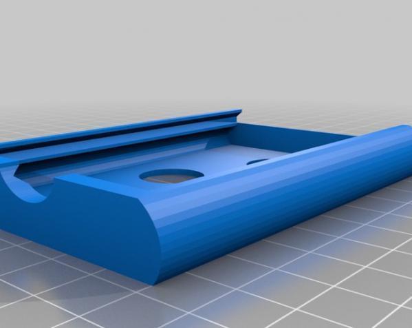 Eulidit方形钱包 3D模型  图2