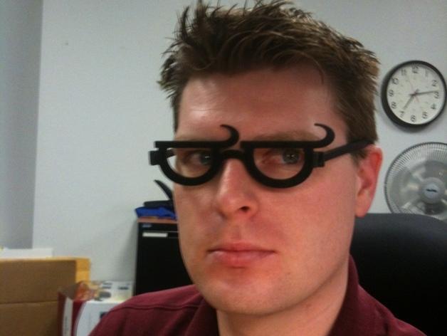 个性化眼镜框 3D模型  图3
