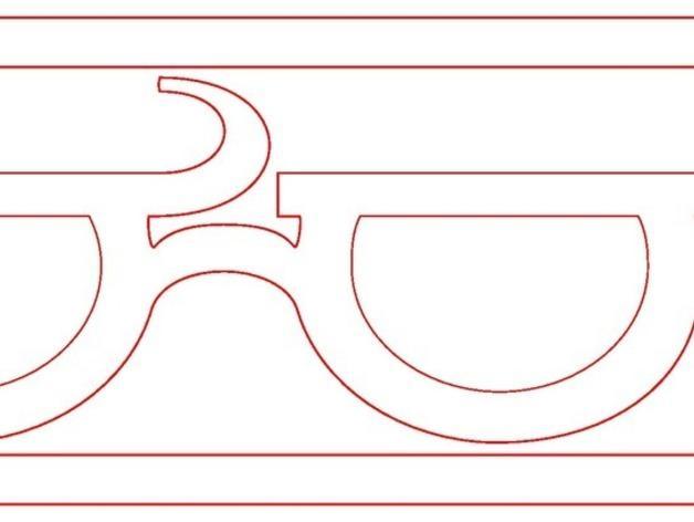 个性化眼镜框 3D模型  图5