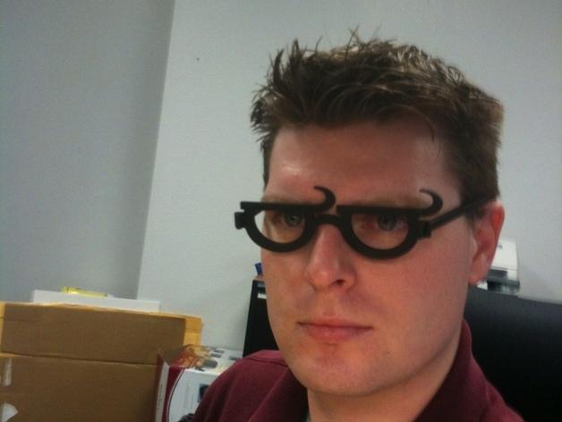 个性化眼镜框 3D模型  图4