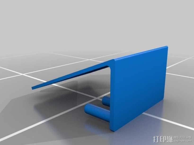 耳环/戒指架 3D模型  图2