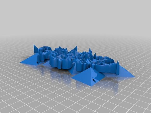 Rococco项链 3D模型  图2