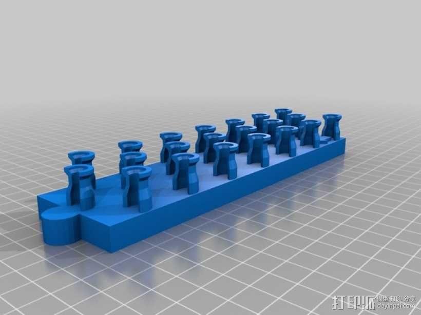 橡筋手饰编织器 3D模型  图2