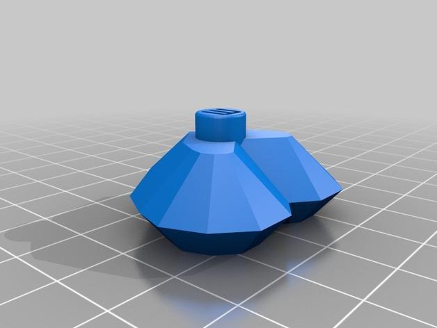 心形戒指 3D模型  图2