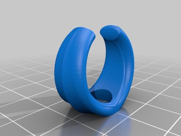 心形戒指 3D模型  图3