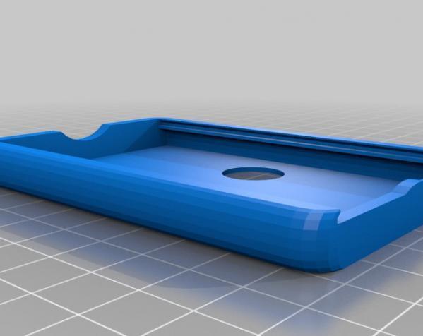 个性化方形钱包盒 3D模型  图2
