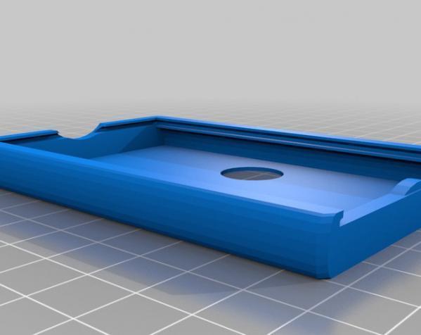个性化方形钱包盒 3D模型  图3