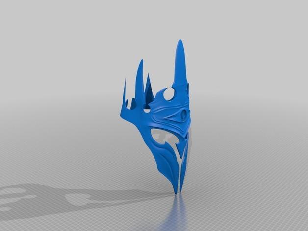 游戏《魔兽世界》巫妖王王冠 3D模型  图1