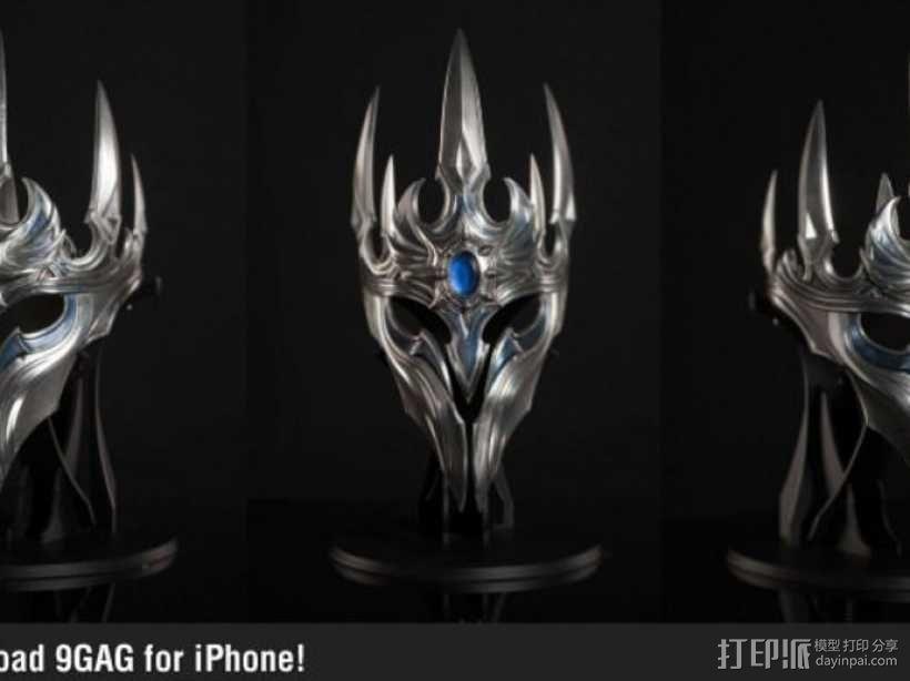 游戏《魔兽世界》巫妖王王冠 3D模型  图6