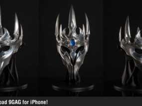 游戏《魔兽世界》巫妖王王冠 3D模型