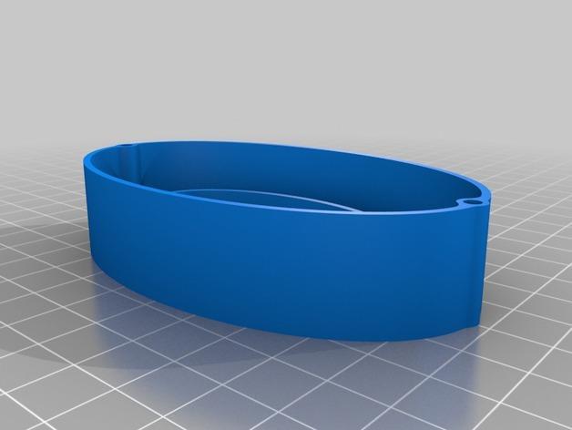 黑猫椭圆小盒 3D模型  图3