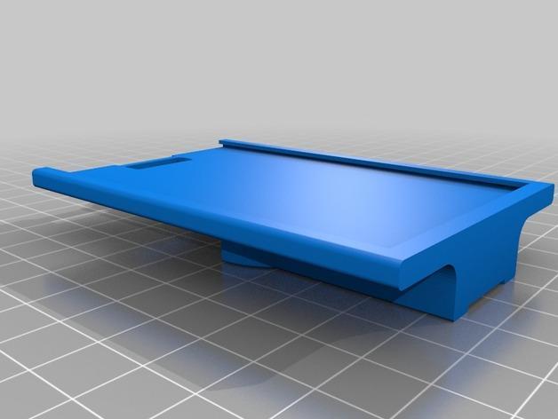 ID卡套/RSA密码套 3D模型  图2