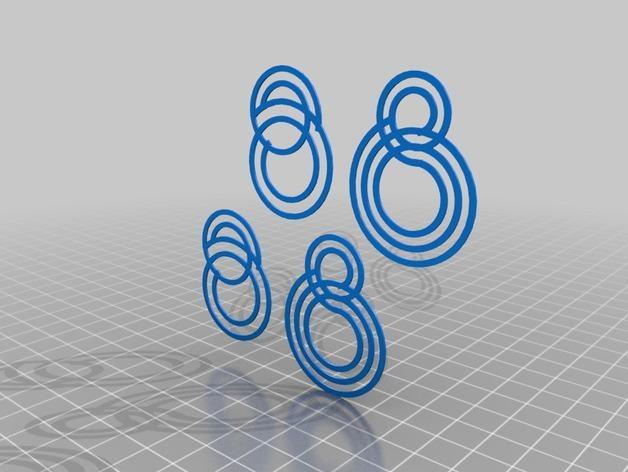 个性化耳环 3D模型  图2