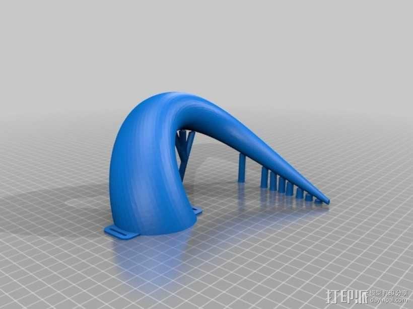 会发光的牛角 3D模型  图7