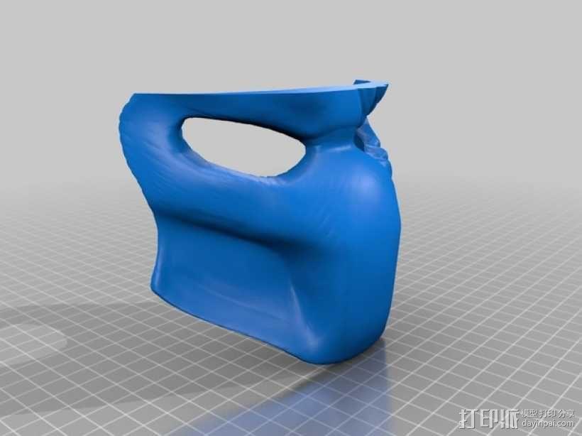 电影《铁血战士》面具 3D模型  图5
