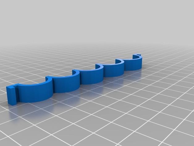 定制化戒指筛选器 3D模型  图3