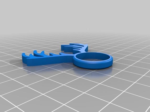 麋鹿戒指 3D模型  图7