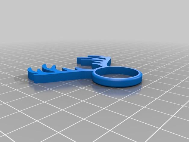 麋鹿戒指 3D模型  图15