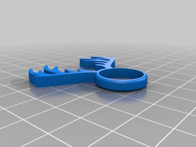 麋鹿戒指 3D模型  图14