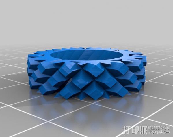 耳环/花瓶/手镯 3D模型  图3