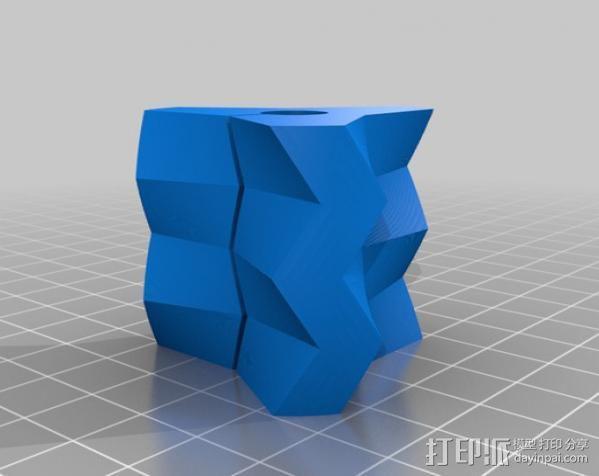 耳环/花瓶/手镯 3D模型  图4