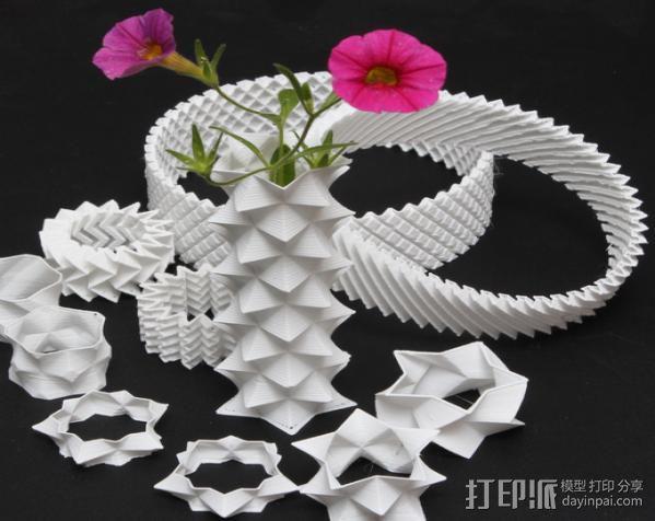 耳环/花瓶/手镯 3D模型  图6