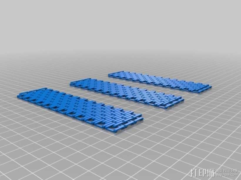 简易可扩展链甲 3D模型  图4