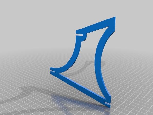 手镯收纳架 3D模型  图3