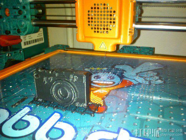 照相机钥匙扣 3D模型  图4