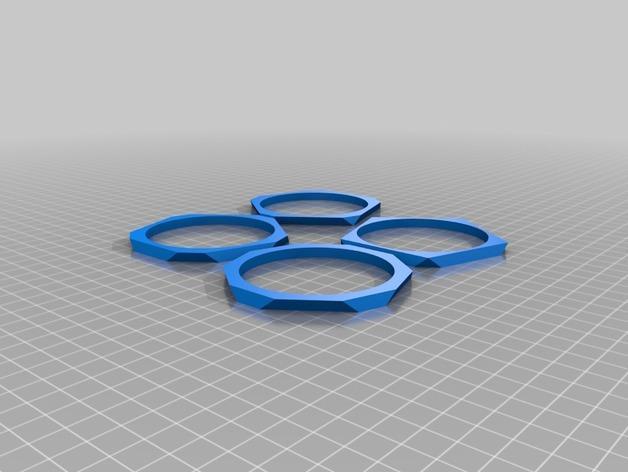 低多边形手镯 3D模型  图2