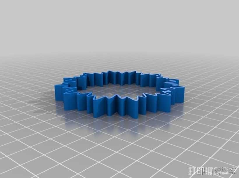 定制化POP手环 3D模型  图2