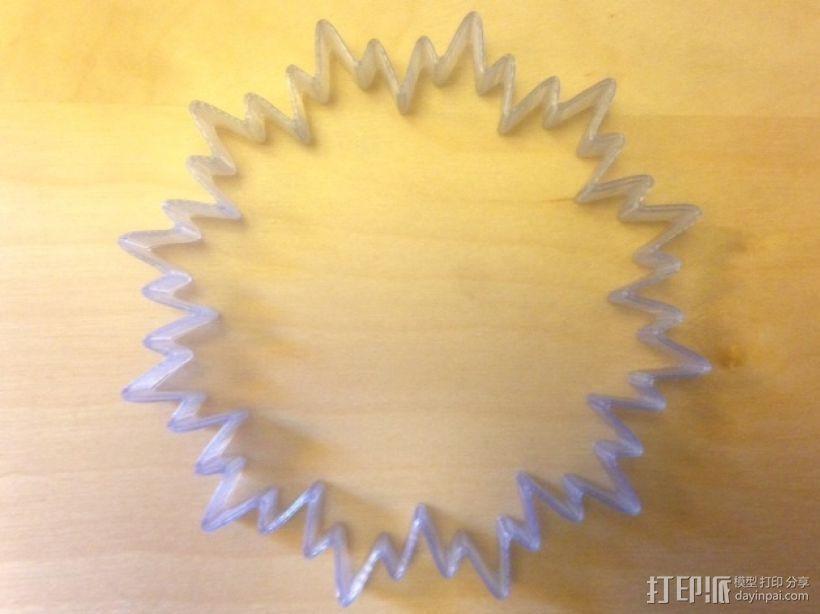 定制化POP手环 3D模型  图1