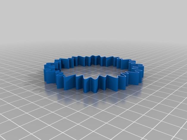 定制化POW手环 3D模型  图3