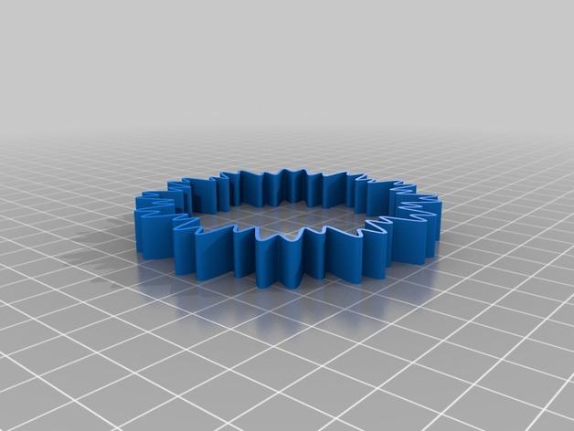 定制化POW手环 3D模型  图4