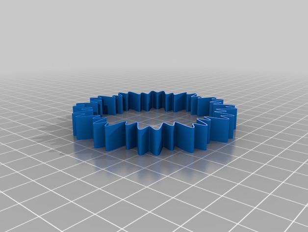 定制化POW手环 3D模型  图5