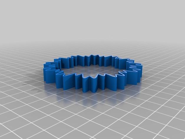 定制化POW手环 3D模型  图6