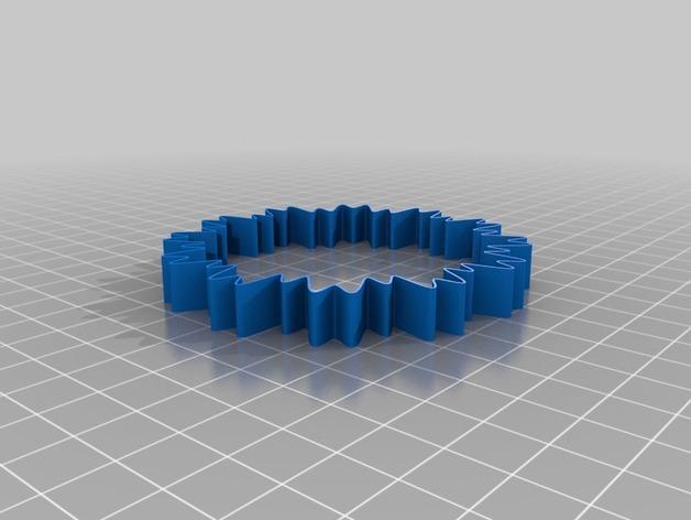 定制化POW手环 3D模型  图7