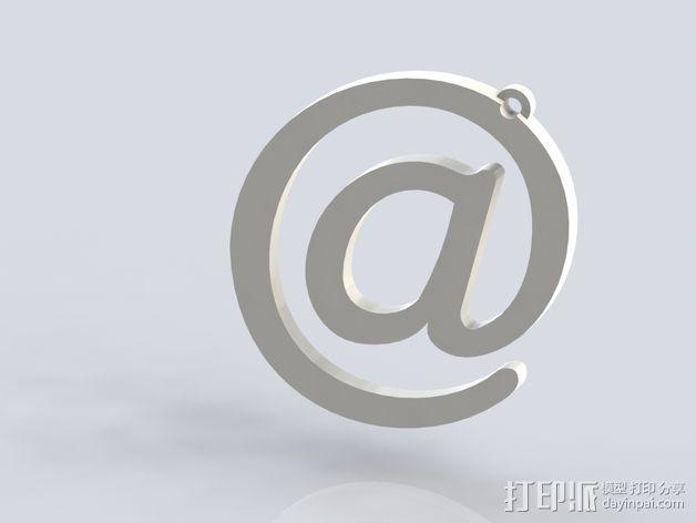 @样式耳环 3D模型  图2