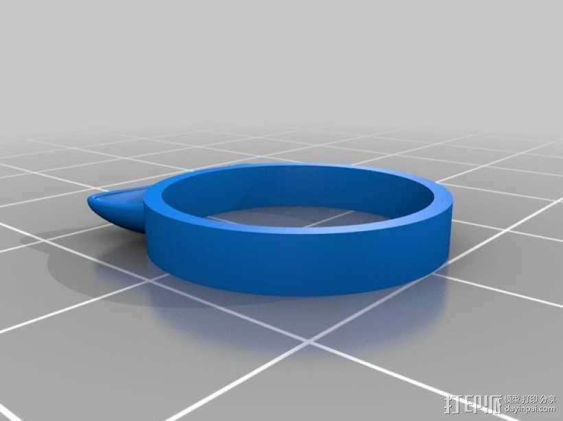 猫耳指环 3D模型  图2