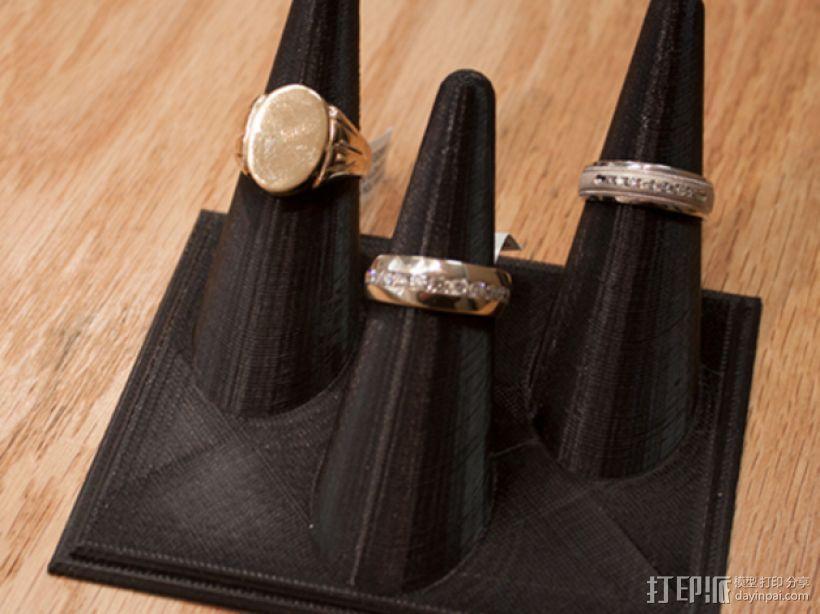 戒指架 3D模型  图1