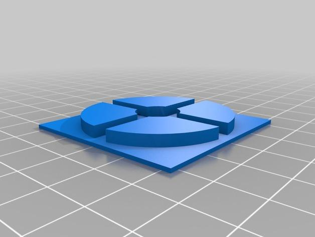 电子游戏LOGO钥匙扣 3D模型  图10