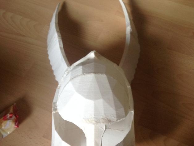 暗黑之魂 骑士头盔 3D模型  图3