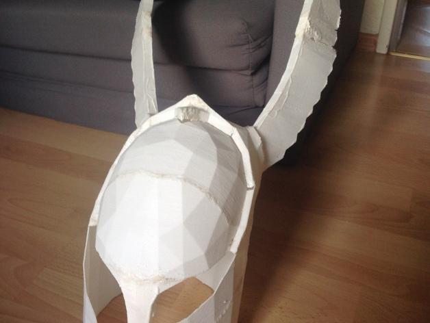 暗黑之魂 骑士头盔 3D模型  图2