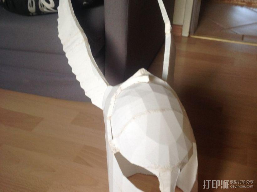 暗黑之魂 骑士头盔 3D模型  图1