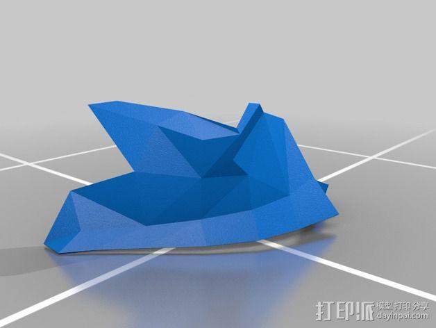 暗黑之魂 骑士头盔 3D模型  图11